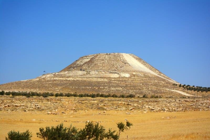 Herodion, Herodium, Israel foto de stock