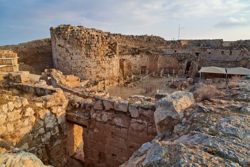 Herodion Ruinen in Israel lizenzfreies stockfoto