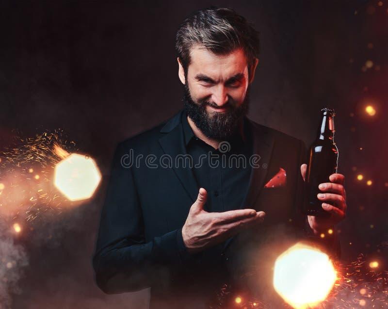 Herr Devil kann zum Verkauf stockfoto