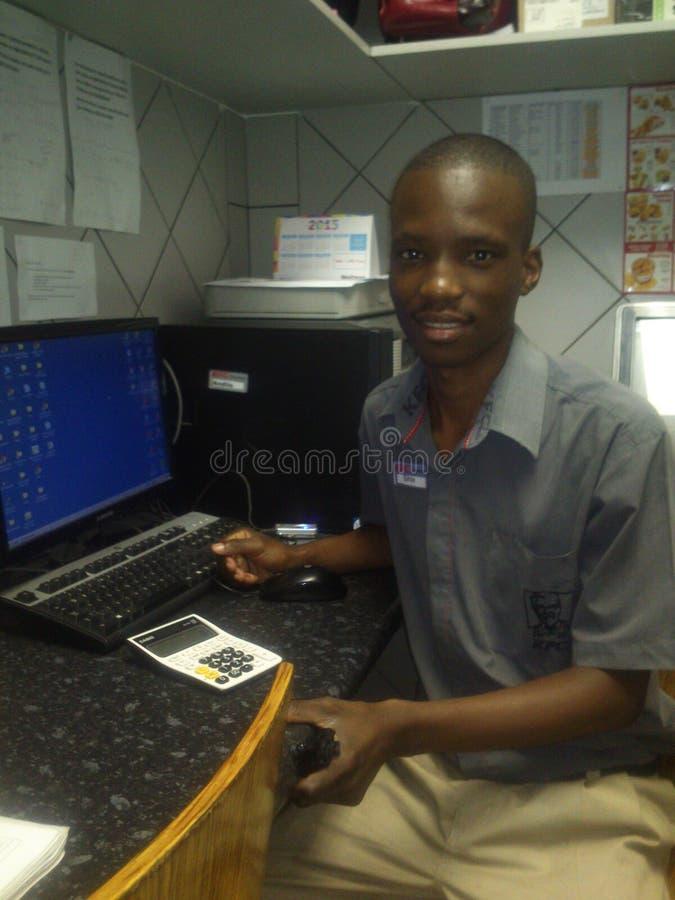 Herr Sihle Doyisa stockbild
