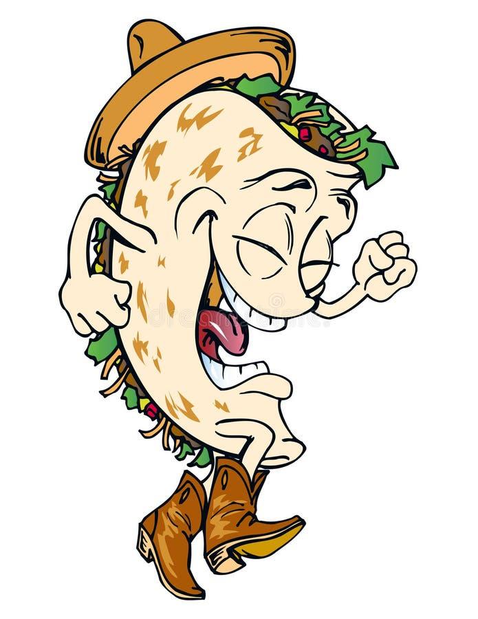 Herr taco lizenzfreie stockfotos