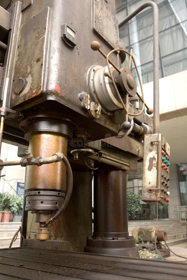 Herramienta de máquina vieja fotografía de archivo libre de regalías