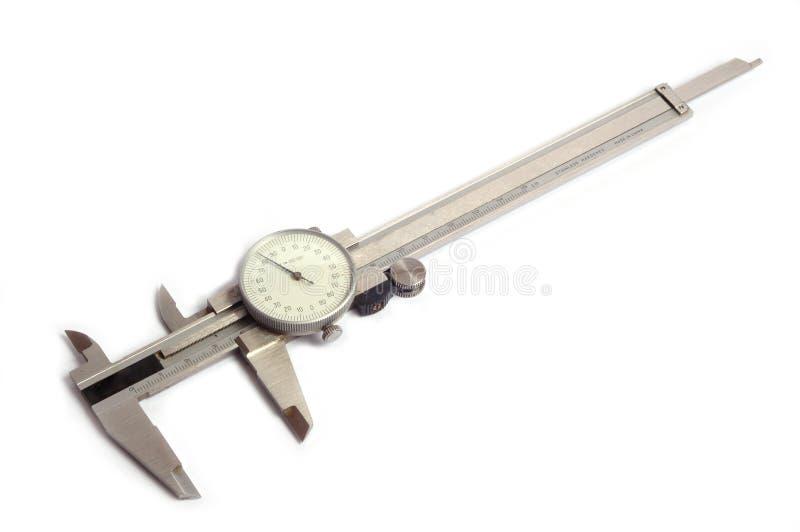 Herramienta de medición del calibrador imagenes de archivo