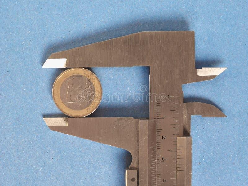 Herramienta de medición del calibrador foto de archivo libre de regalías