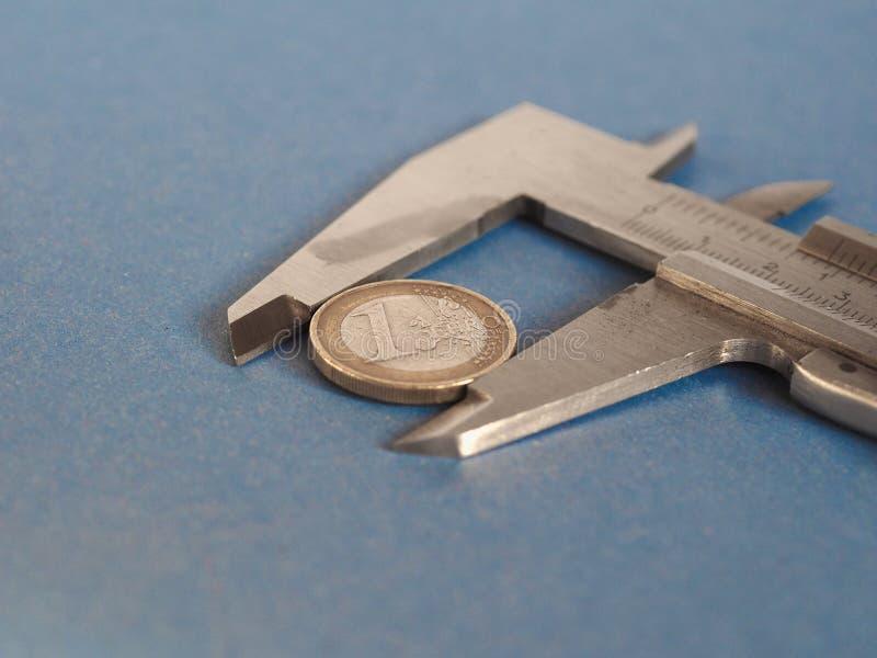 Herramienta de medición del calibrador imagen de archivo libre de regalías