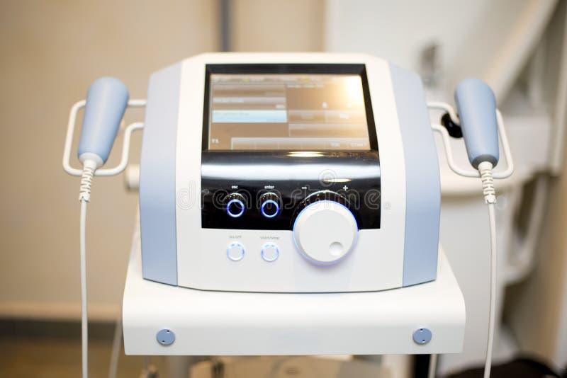 Herramienta del dispositivo del ultrasonido, médica y de diagnóstico imagen de archivo libre de regalías