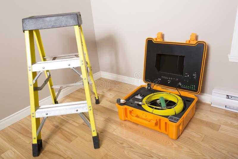 Herramienta del limpiador de la ventilación foto de archivo