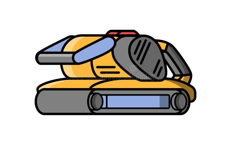 Herramienta eléctrica de la construcción de la amoladora de la correa libre illustration