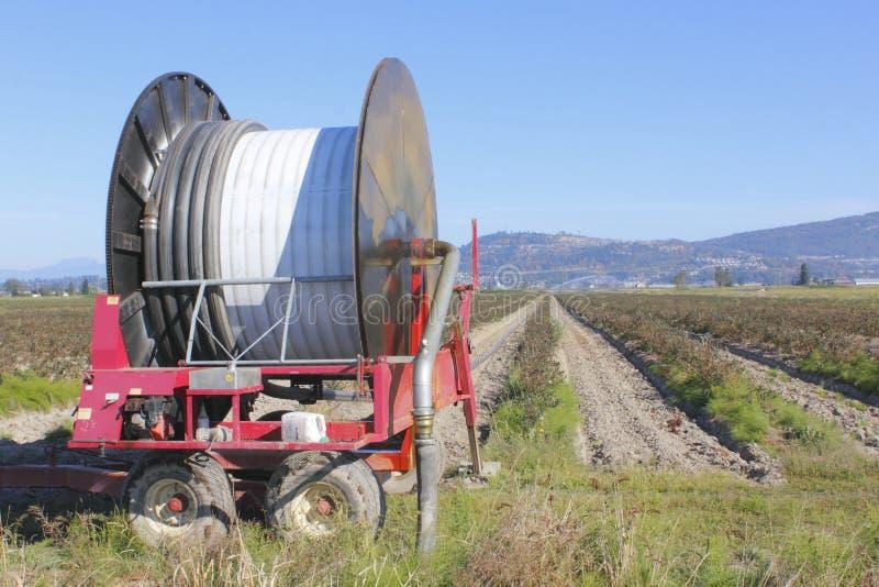 Herramienta industrial de la irrigación foto de archivo