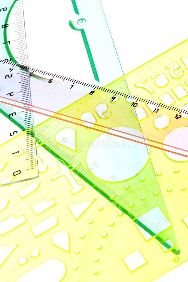 Herramienta para el cierre de la medida para arriba imagen de archivo