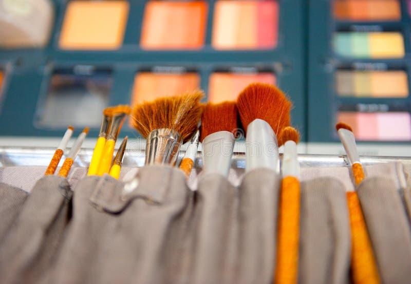 Herramientas cosméticas imagen de archivo