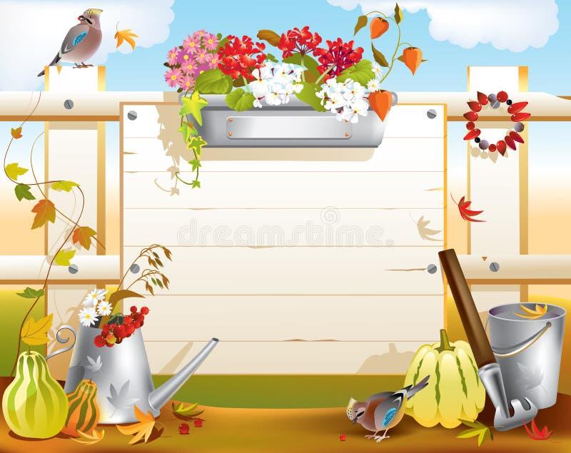 Herramientas de jardín libre illustration