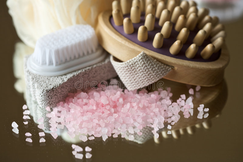 Herramientas del masaje imagen de archivo