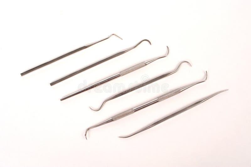 Herramientas dentales foto de archivo