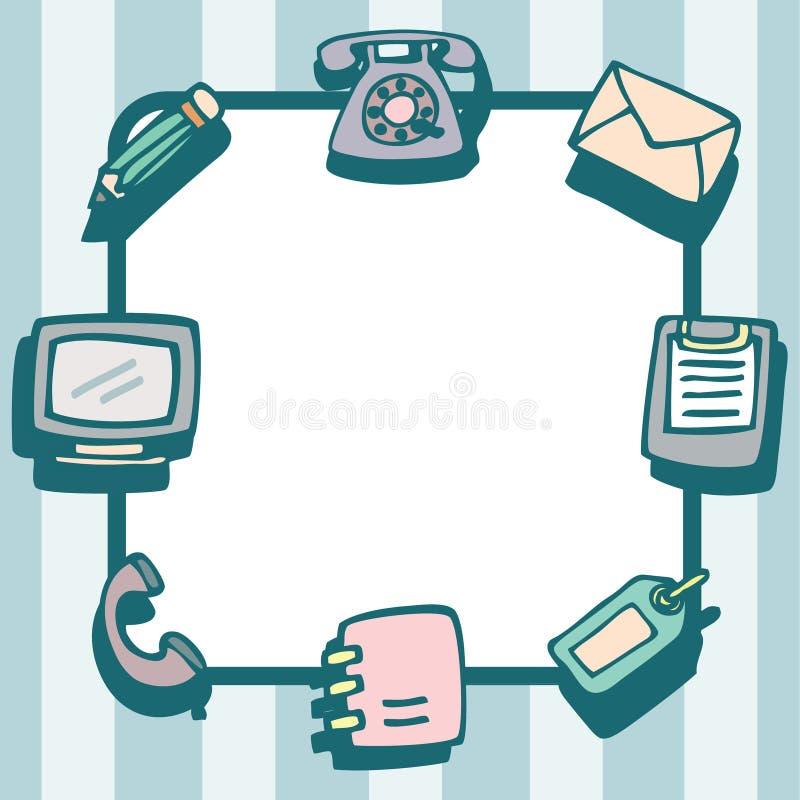 Herramientas Y Objetos Para El Marco De La Comunicación De Oficina ...