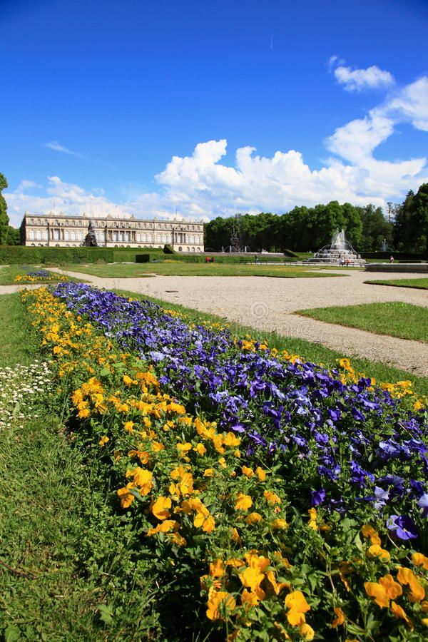Free Herrenchiemsee Castle Stock Photography - 19914042