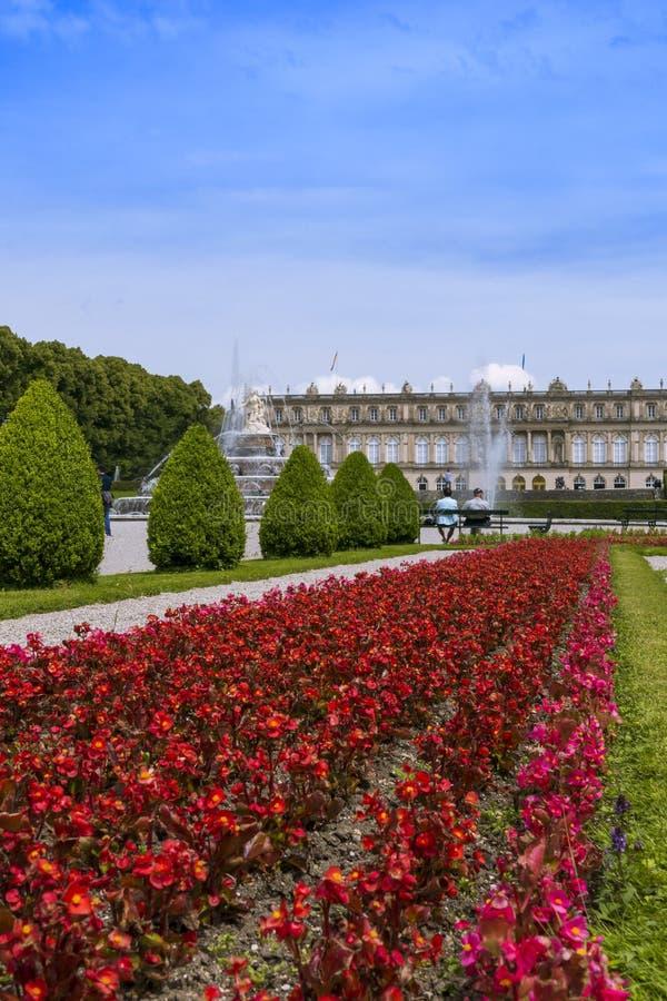 Herrenchiemsee, Chiemsee, дворец, Бавария, Германия стоковое фото