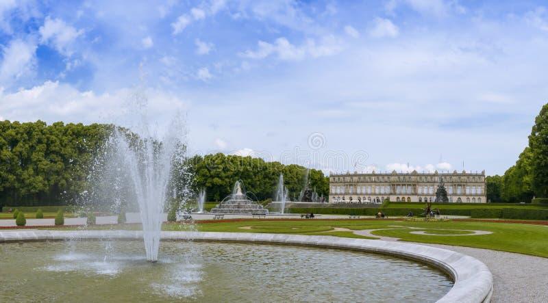 Herrenchiemsee, Chiemsee, дворец, Бавария, Германия стоковые изображения rf