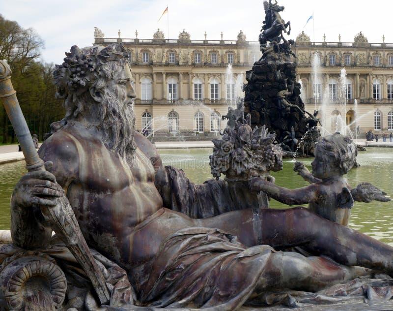 Herrenchiemsee pałac zdjęcie royalty free