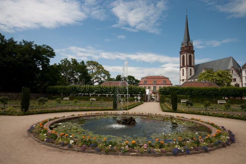Herrengarten达姆施塔特 库存图片