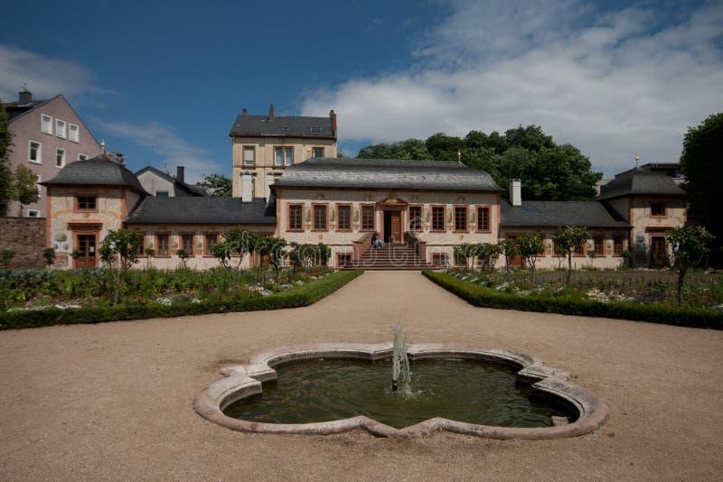 Herrengarten Darmstadt foto de stock