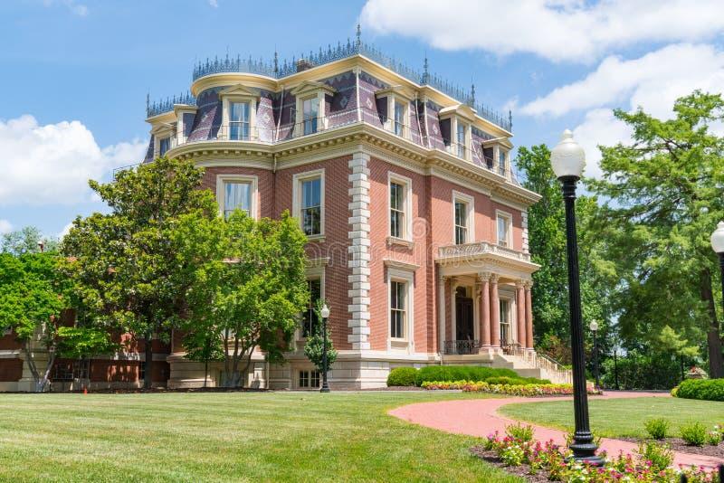 Herrgård för Missouri regulator` s royaltyfria foton