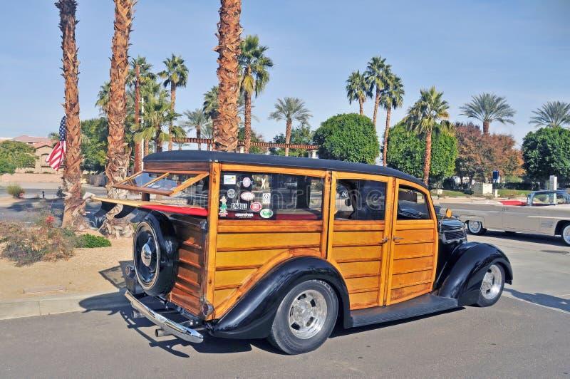 Herrgårdsvagn för Ford `-Woodie ` royaltyfri foto