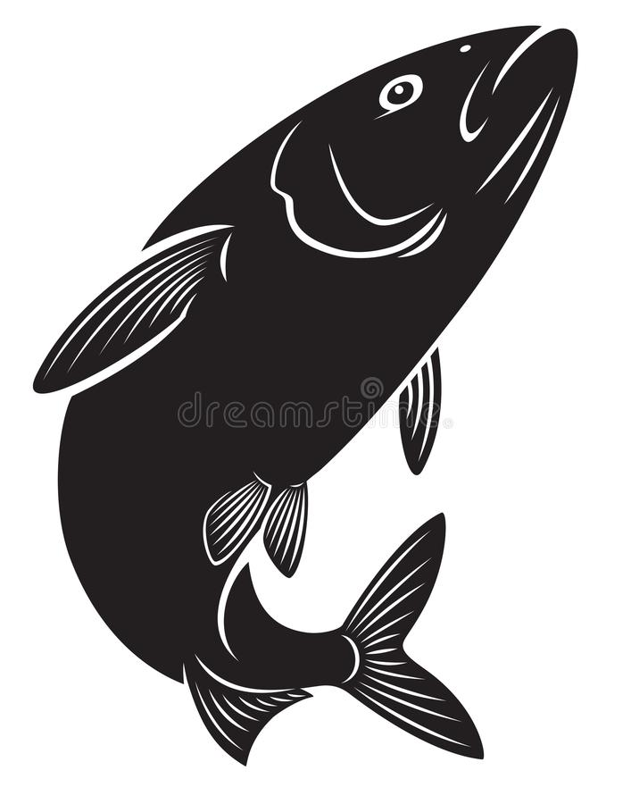 Herring. The figure shows the herring fish vector illustration