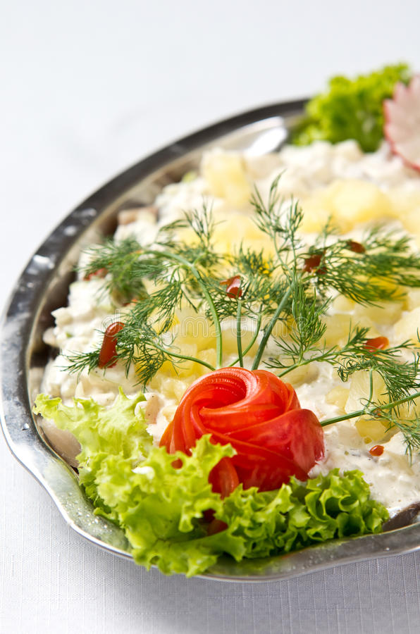 Download Herring salad dish stock image. Image of baltic, appetizing - 34448517