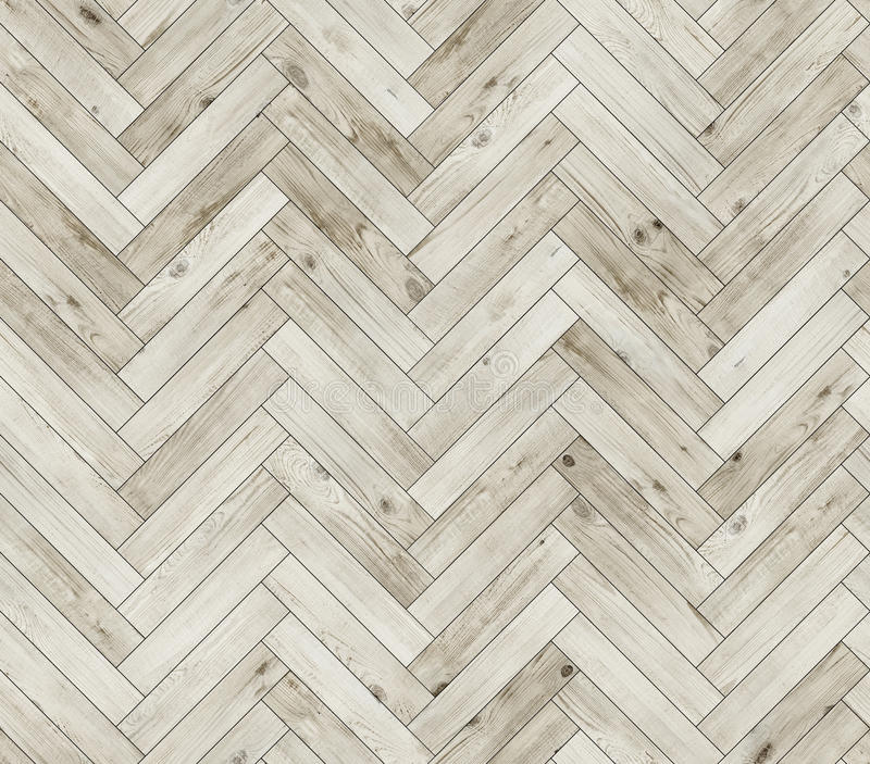 Herringbone bleached natural parquet seamless floor texture. Herringbone natural parquet seamless floor texture background royalty free stock photos