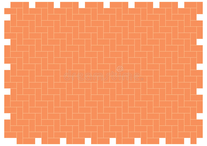 Herringbone brickwork pattern royalty free illustration