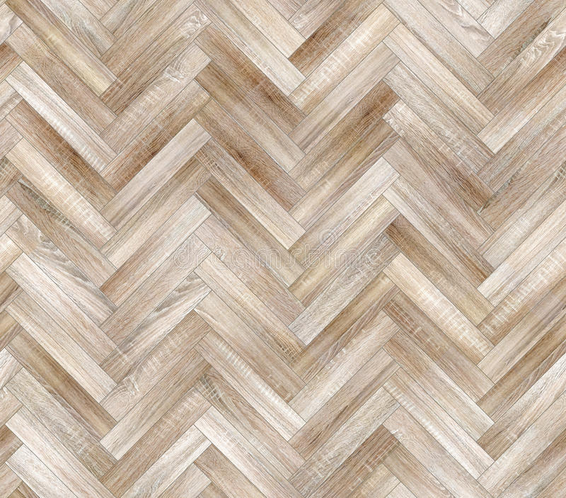 Herringbone Natural Bleached Parquet Seamless Floor