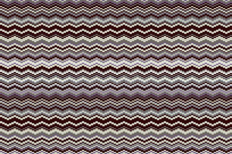 Herringbone Tweed dimensional seamless pattern. Colors are grouped for easy editing. Vintage vector illustration