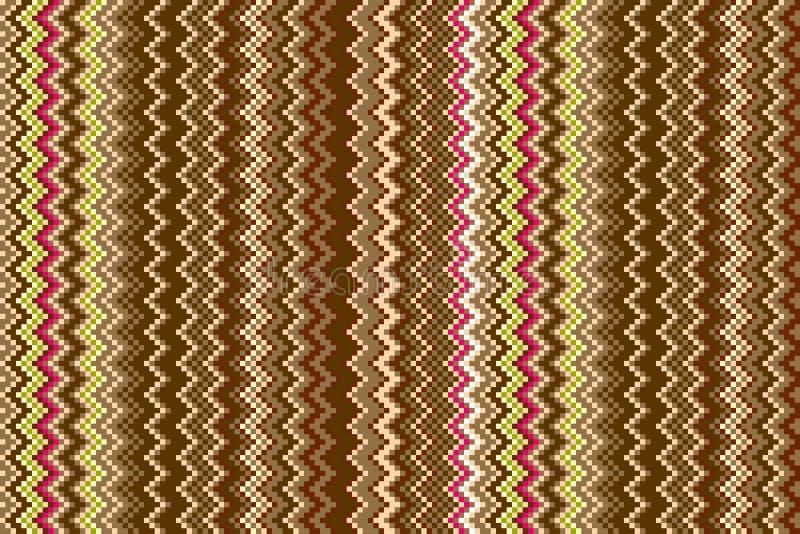 Herringbone tweedu dimensional bezszwowy wzór Kolory jest grupują dla łatwego edytorstwa royalty ilustracja