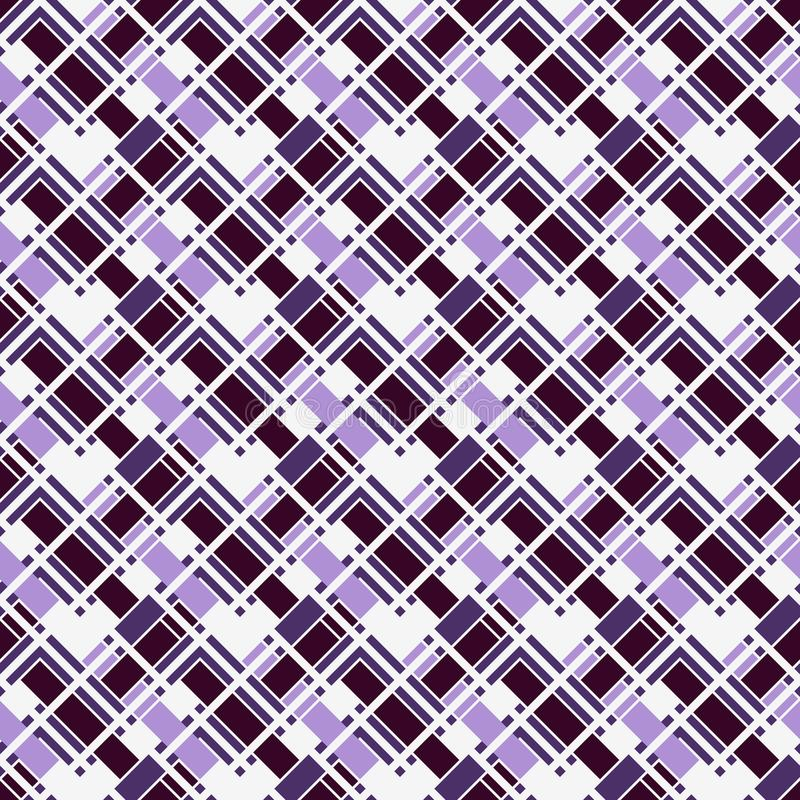Herringbone wallpaper. Seamless surface pattern with repeated rectangular tiles. Geometric ornament with zig zag stripe. stock illustration