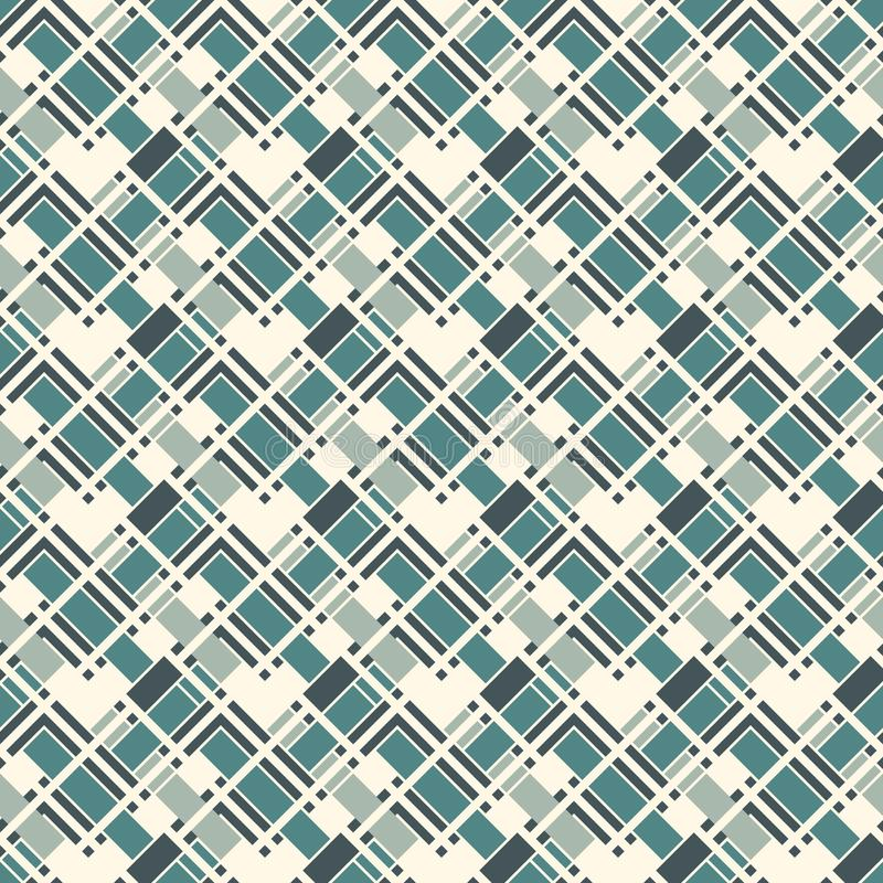 Herringbone wallpaper. Seamless surface pattern with repeated rectangular tiles. Geometric ornament with zig zag stripe. royalty free illustration