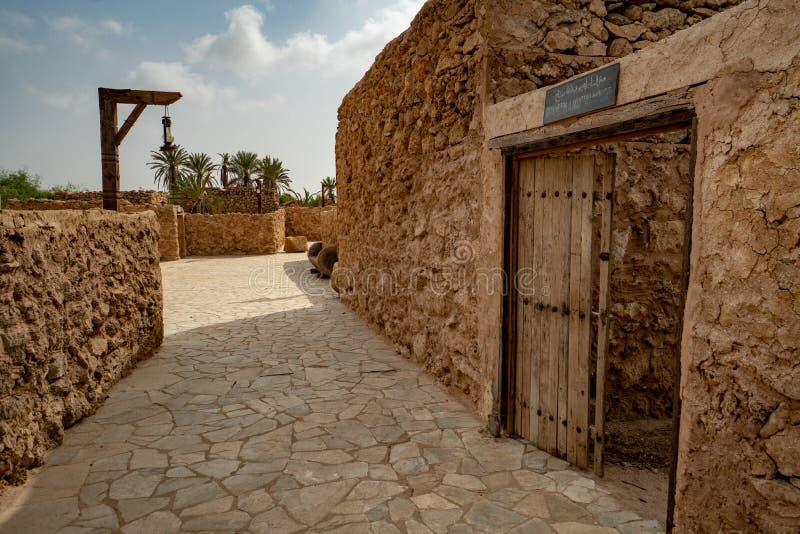 Herritage-Dorf auf Farasan-Insel in Jizan-Provinz, Saudi-Arabien stockbild