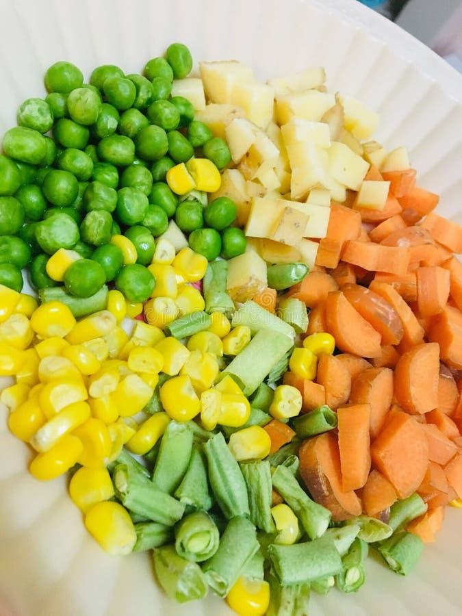 Herritage veggies. Fresh veggies of south India includes beans, red carrots, Green peas, Potatoes royalty free stock photos