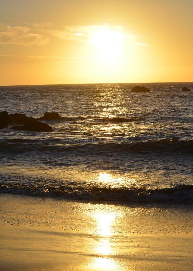 Herrliche Sonnenuntergänge lizenzfreie stockbilder