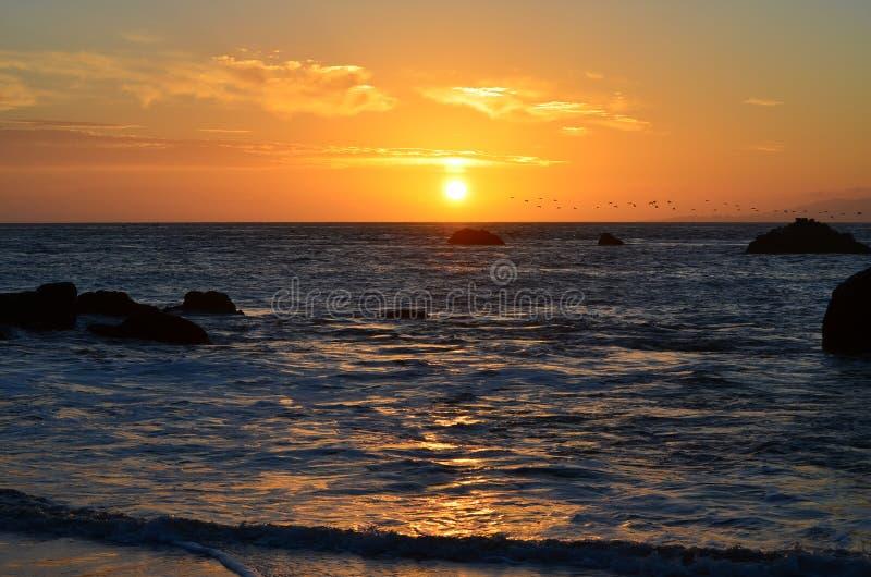 Herrliche Sonnenuntergänge 2 stockbild