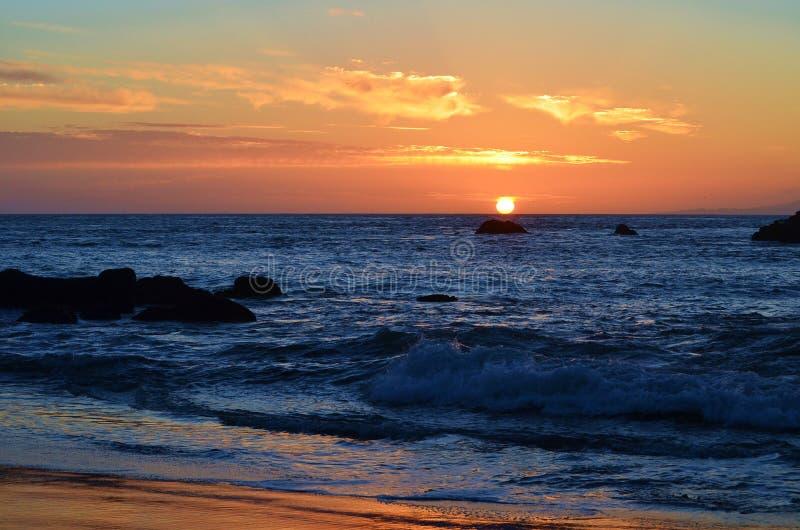 Herrliche Sonnenuntergänge 3 lizenzfreies stockbild