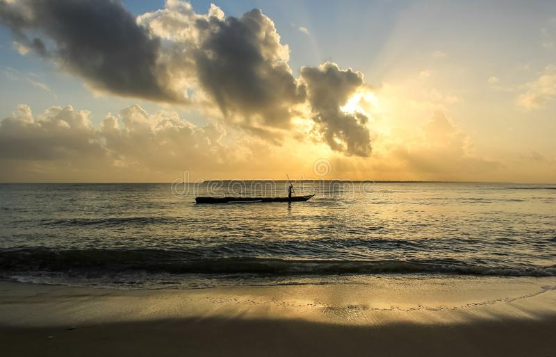 Herrlicher Sonnenaufgang lizenzfreie stockfotos