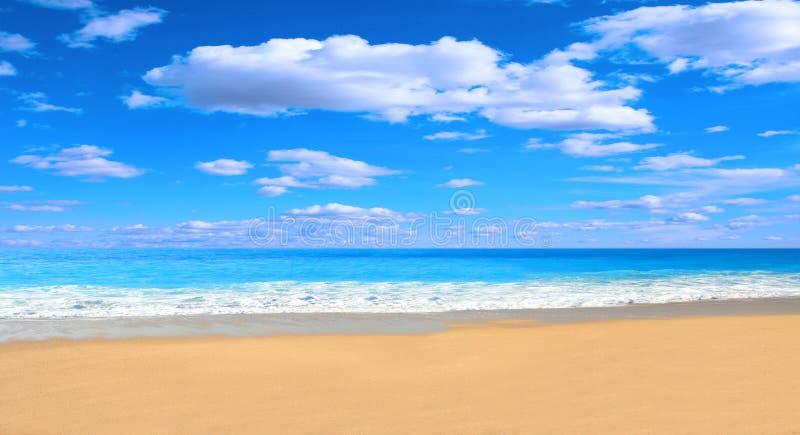 Herrlicher Strand lizenzfreies stockbild