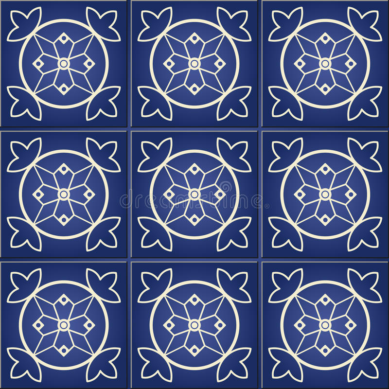 Herrliches nahtloses Muster vektor abbildung