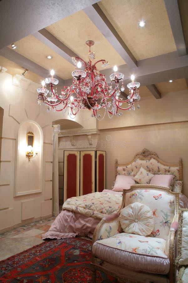 Herrliches Schlafzimmer lizenzfreies stockfoto