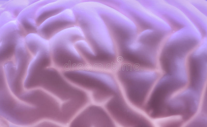 Hersenenachtergrond stock foto's