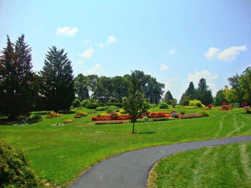 Hershey Gardens Pennsylvania Flowers Shrubs royalty free stock images