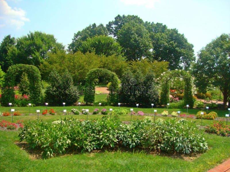 Hershey Gardens Pennsylvania Flowers Shrubs stock photos