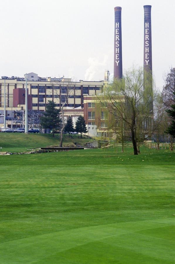 Hershey, PA, дом шоколада Hershey стоковое фото
