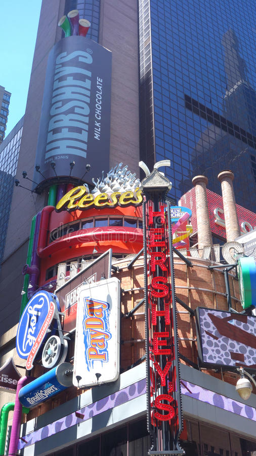 Hershey's Times Square stock photos